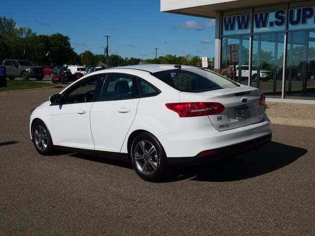 Certified 2018 Ford Focus SE with VIN 1FADP3FE0JL244562 for sale in Plymouth, Minnesota