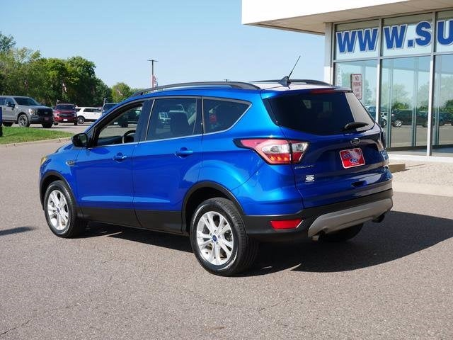 Certified 2018 Ford Escape SE with VIN 1FMCU9GD2JUC35360 for sale in Plymouth, Minnesota