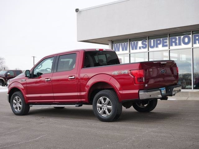 Used 2018 Ford F-150 Lariat with VIN 1FTEW1EG0JFC45220 for sale in Plymouth, Minnesota
