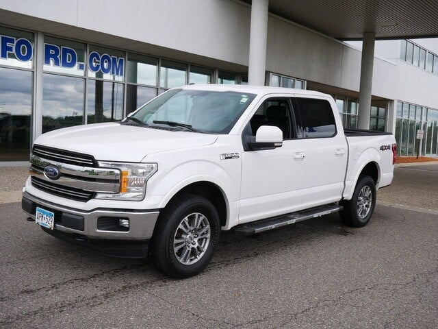 Used 2018 Ford F-150 Lariat with VIN 1FTEW1EG8JKC60992 for sale in Plymouth, Minnesota