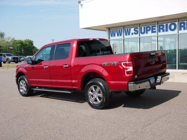 Used 2018 Ford F-150 XLT with VIN 1FTEW1EP2JKE59326 for sale in Plymouth, Minnesota