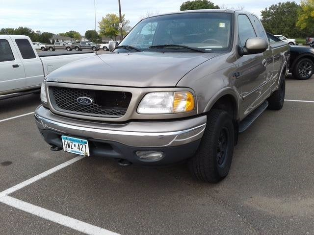 Used 2001 Ford F-150 Lariat with VIN 1FTRX18L81NA98271 for sale in Plymouth, Minnesota