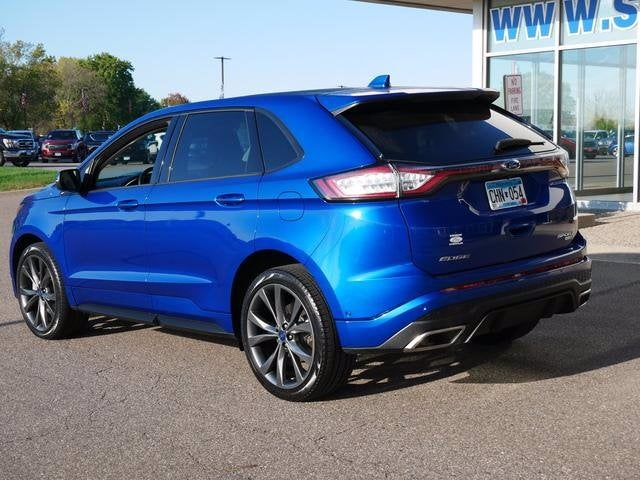 Certified 2018 Ford Edge Sport with VIN 2FMPK4AP4JBC55774 for sale in Plymouth, Minnesota