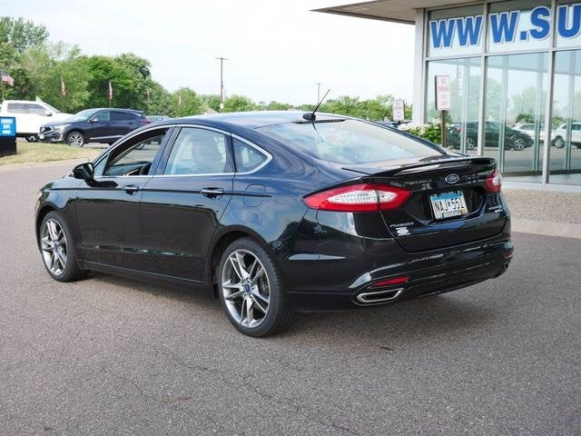 Used 2015 Ford Fusion Titanium with VIN 3FA6P0D99FR194833 for sale in Plymouth, Minnesota