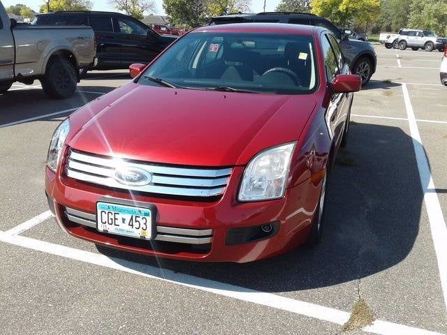 Used 2008 Ford Fusion SE with VIN 3FAHP07Z08R142952 for sale in Plymouth, Minnesota