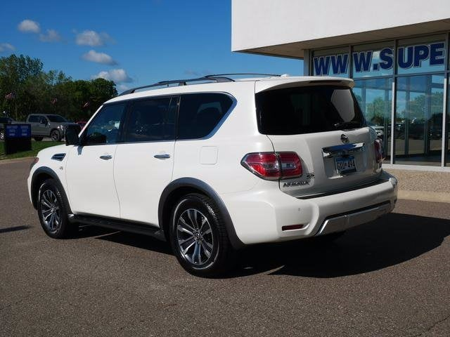 Certified 2017 Nissan Armada SL with VIN JN8AY2NC3H9501665 for sale in Plymouth, Minnesota