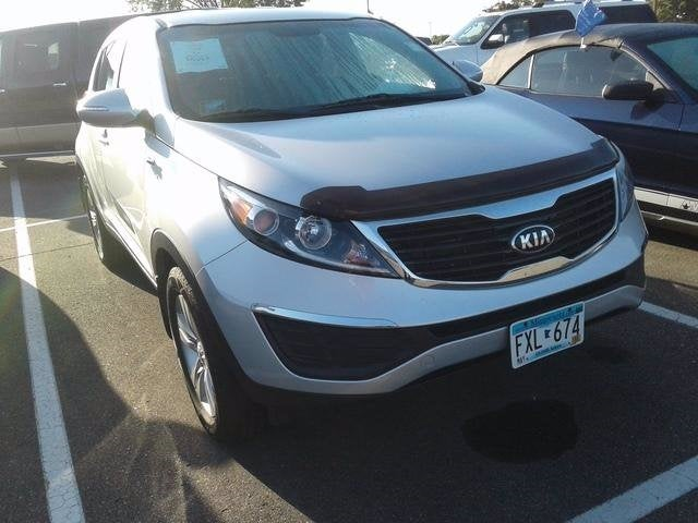 Used 2013 Kia Sportage LX with VIN KNDPBCA23D7451785 for sale in Plymouth, Minnesota